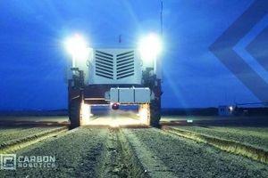 Robot diệt cỏ dại bằng tia laser gấp 20 lần sức người