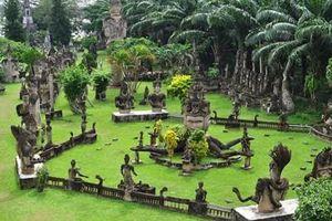Khám phá vườn tượng Phật - địa điểm du lịch tâm linh nổi tiếng ở Lào