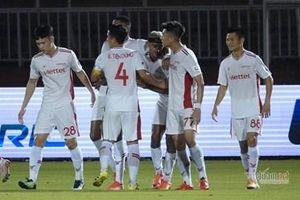 Câu lạc bộ TP. Hồ Chí Minh chia điểm với Viettel trên sân nhà