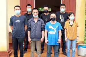Tuyên Quang: Phát hiện 7 người Trung Quốc nhập cảnh trái phép