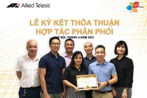 QD.TEK ký thỏa thuận hợp tác phân phối với Allied Telesis