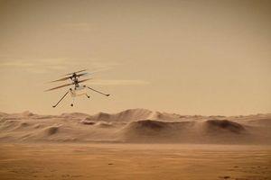 NASA công bố video trực thăng Ingenuity bay trên sao Hỏa nhanh chưa từng thấy