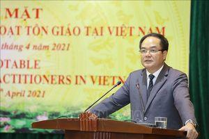 Ban Tôn giáo Chính phủ gặp mặt người nước ngoài sinh hoạt tôn giáo tại Việt Nam
