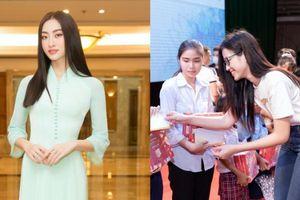 Dự án tặng tivi của Hoa hậu Lương Thùy Linh chính thức khởi động