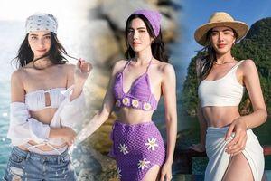 Chị em đi biển ngại hở cứ học 'Ma nữ đẹp nhất Thái Lan' loạt cách phối xinh, xịn, sang