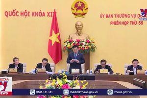 Khai mạc Phiên họp thứ 55, Ủy ban Thường vụ Quốc hội