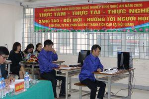 Nghệ An tập trung các điều kiện đảm bảo tốt Hội giảng nhà giáo giáo dục nghề nghiệp toàn quốc