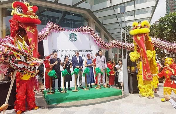 Starbucks chính thức có mặt tại thành phố Nha Trang