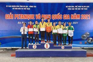 Bi sắt Đồng Tháp nhất toàn đoàn giải vô địch Quốc gia năm 2021