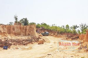 Khai thác khoáng sản ở Sơn Tân