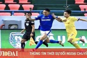 Kết quả, Bảng xếp hạng V-League 2021 (27/4): Nam Định lên top 3, Viettel bị HAGL bỏ xa