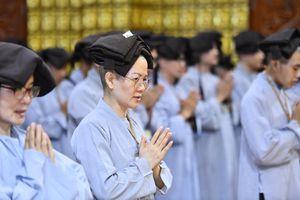 164 người tham dự khóa tu xuất gia gieo duyên tại chùa Giác Ngộ (TP.HCM)