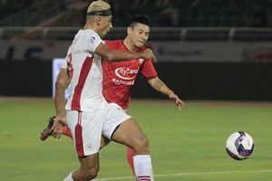 Chia điểm cùng thành phố Hồ Chí Minh, Viettel FC đứt mạch chiến thắng