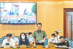 Công an Hà Nội mở cao điểm tấn công, trấn áp tội phạm, đảm bảo an ninh cho cuộc bầu cử sắp tới