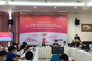 Kết nối doanh nghiệp tỉnh An Giang với hệ thống phân phối nước ngoài