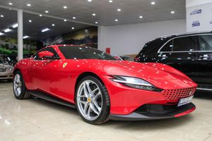 Siêu xe Roma màu đỏ đặc trưng Ferrari vừa về Việt Nam