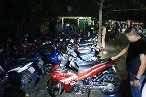 Cảnh sát vây bắt 36 người đua xe trái phép