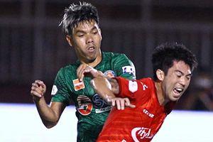 CLB Sài Gòn đẩy đội TP.HCM xuống áp chót bảng xếp hạng