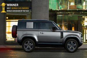 Land Rover Defender thế hệ mới đạt giải Thiết kế xe hơi của năm 2021