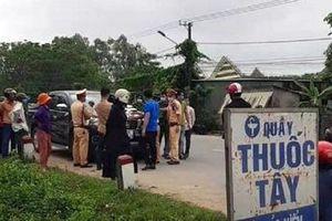 Quảng Trị: Tài xế cố thủ trong xe nhiều giờ bị phạt 41 triệu đồng