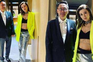 Hoa hậu đẹp nhất Hong Kong mặc bra đi sự kiện, body tuổi 51 gây 'bão'