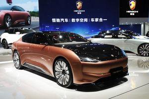 Lạc vào thế giới tương lai tại triển lãm ô tô Thượng Hải 2021