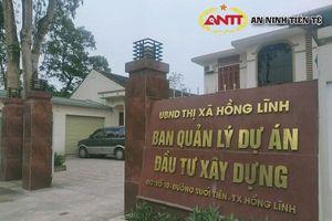 Mở gói thầu gần 12 tỷ đồng ở Hồng Lĩnh: Liên danh 'lạ' giảm giá sâu