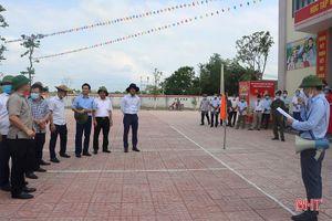 Đoàn công tác Trung ương kiểm tra xây dựng nông thôn mới tại Cẩm Xuyên