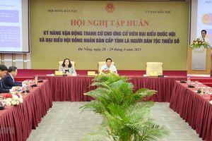 Đà Nẵng: Tập huấn kỹ năng tranh cử cho ứng cử viên dân tộc thiểu số