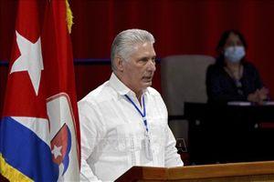 Lãnh đạo Cuba, Mexico điện đàm