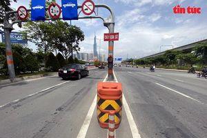 TP Hồ Chí Minh lắp đặt các trụ nhựa composite giúp giảm tai nạn giao thông