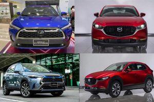 So sánh Toyota Corolla Cross 1.8V với Mazda CX-30 Premium