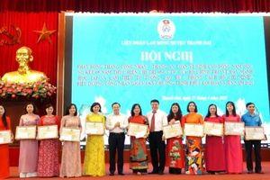 Huyện Thanh Oai phát động Tháng Công nhân năm 2021