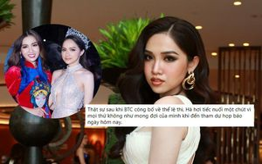 Miss Universe Vietnam thay đổi luật ở phút 89 bất lợi cho người chuyển giới: Đỗ Nhật Hà lên tiếng!