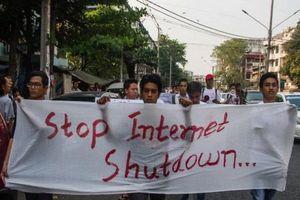 Myanmar: Internet bị ngắt diện rộng, chỉ dùng được trong giao dịch ngân hàng