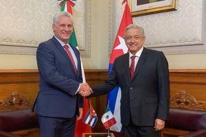 Lãnh đạo Cuba-Mexico điện đàm, khẳng định sẵn sàng tăng cường quan hệ