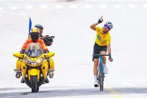 Về nhất đèo Prenn và chặng 19, Loic Desriac giữ chắc chiếc áo vàng