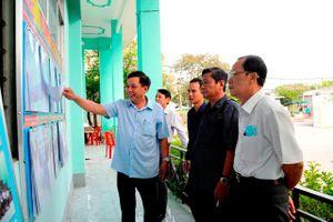 Ban bầu cử đại biểu Quốc hội kiểm tra công tác chuẩn bị bầu cử