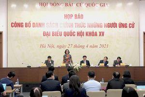 14 người chính thức ứng cử đại biểu Quốc hội khóa XV, đơn vị tỉnh Đồng Tháp