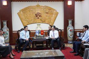 UBND tỉnh tiếp Đại sứ đặc mệnh toàn quyền I-xra-en tại Việt Nam