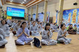 Đồng Nai: Khóa tu 'Một ngày phúc lạc' kỳ thứ 20 tại chùa Trúc Lâm Viên Nghiêm