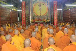 Đồng Tháp: Đại giới đàn Từ Nhơn Phật lịch 2564 truyền giới cho giới tử