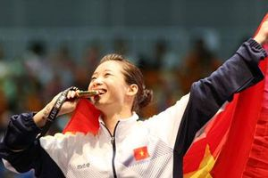 Cô gái chuyên 'mở tài khoản' cho Đoàn Thể thao Việt Nam
