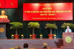 Tiếp nối ngọn lửa anh dũng của cha anh, xây dựng thành phố Hồ Chí Minh giàu đẹp