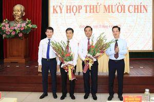 Đồng chí Nguyễn Quốc Hoàn được bầu giữ chức Phó Chủ tịch UBND quận Hoàn Kiếm