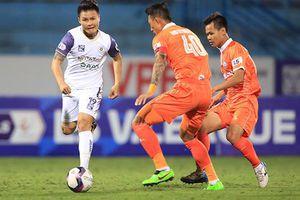 Thua Bình Định, Hà Nội FC tụt sâu trên bảng xếp hạng