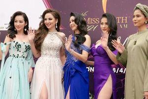 Trúc Diễm, Nam Em, Phương Khánh hội ngộ tại sự kiện công bố 'Miss Earth Vietnam 2021'