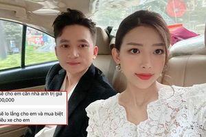 Vừa lên xe hoa với nhạc sĩ Phan Mạnh Quỳnh, hotgirl Khánh Vy đã bị người lạ 'gạ gẫm'