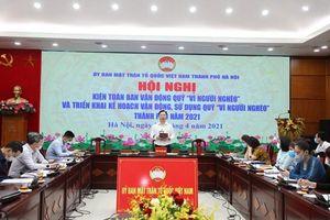 Hà Nội: Phấn đấu vận động Quỹ 'Vì người nghèo' ba cấp đạt 50 tỷ đồng