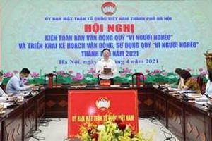 Hà Nội: Quỹ 'Vì người nghèo' các cấp sẽ hỗ trợ xây mới nhà Đại đoàn kết cho 100 hộ nghèo